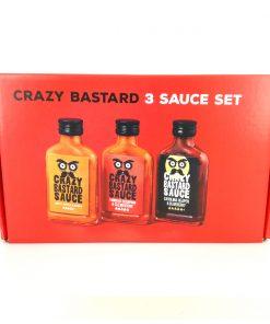 3er Sauce Set von Crazy Bastard (Hootest)