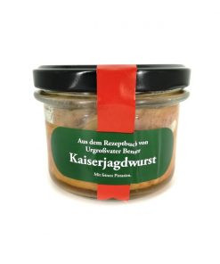 Original Berliner Kaiserjagdwurst 175g Glas
