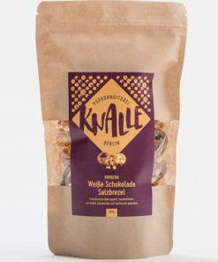 Knalle - Weiße Schokolade Salzbrezel Popkorn
