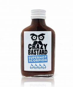 Crazy Bastard Sauce Superhot Scorpion