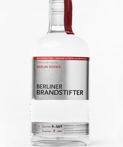 Berliner Brandstifter Berlin Vodka 0,7 l