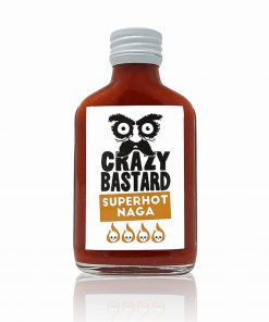 Crazy Bastard Sauce Superhot Naga
