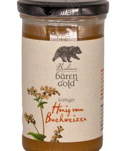 """Berliner Bärengold """"Honig vom Buchweizen"""" 325g Glas"""