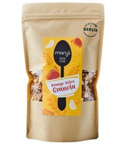 Mango-Kokos Granola Müsli 150 gr