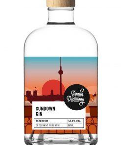 Sundown Gin von Berlin Distillery 0,05l